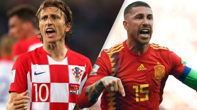 Croatia vs. Spain