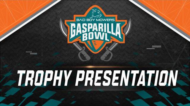 Bad Boy Mowers Gasparilla Bowl Trophy Ceremony (Bowl Game)