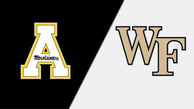 Appalachian State vs. #23 Wake Forest (W Soccer)