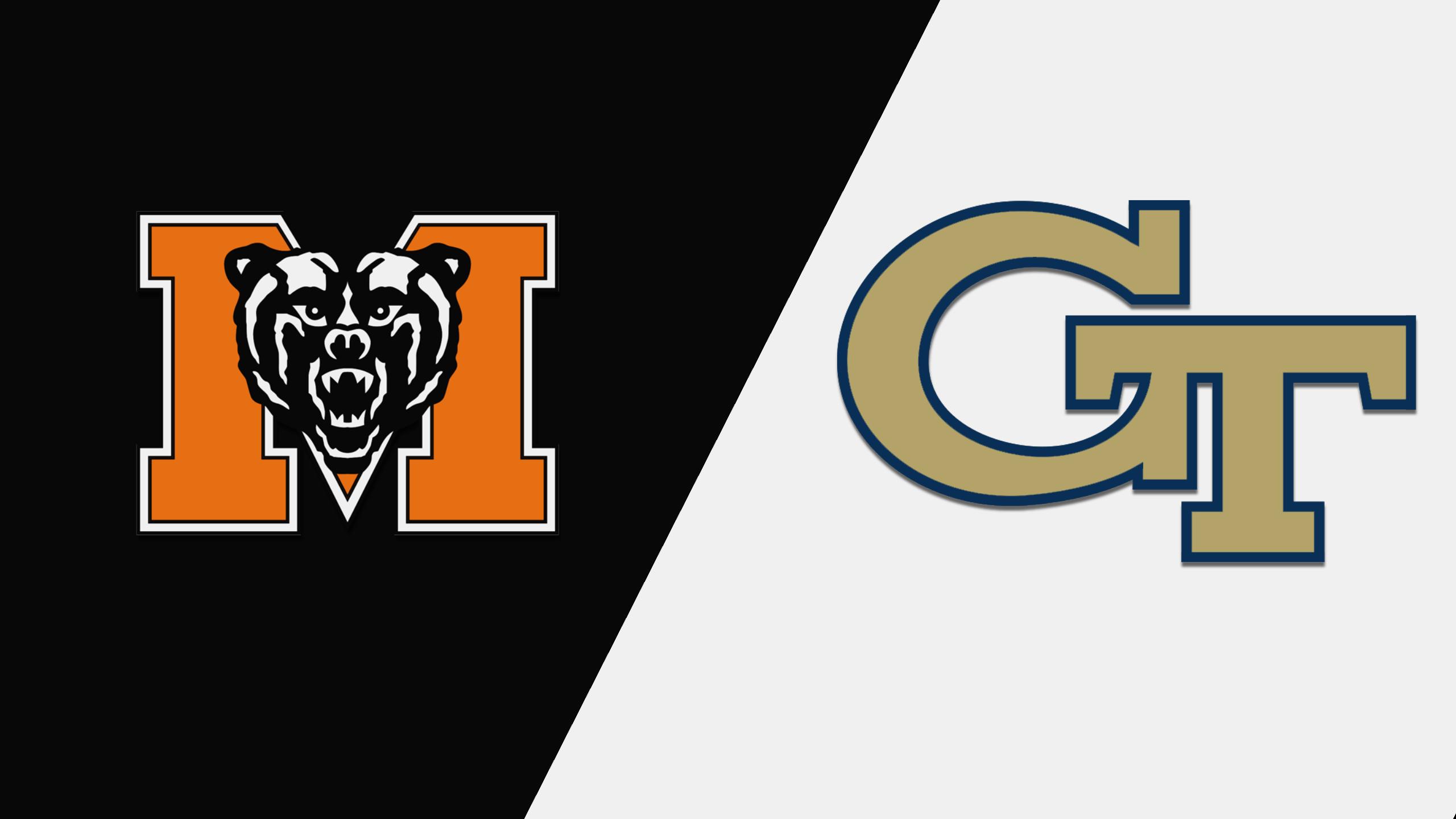 Mercer vs. Georgia Tech (Softball)