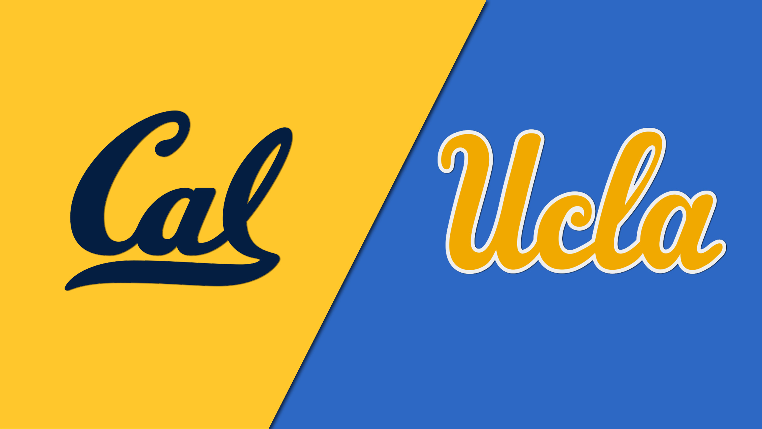 California Golden Bears vs. UCLA Bruins (re-air)