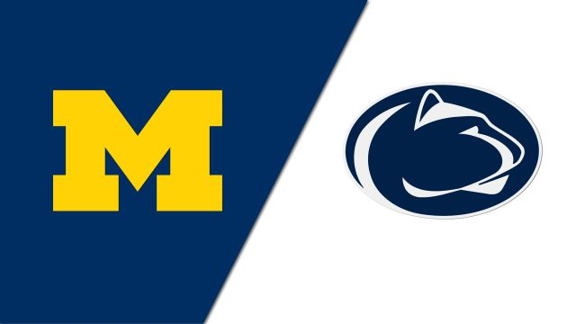 #18 Michigan vs. Penn State (re-air)