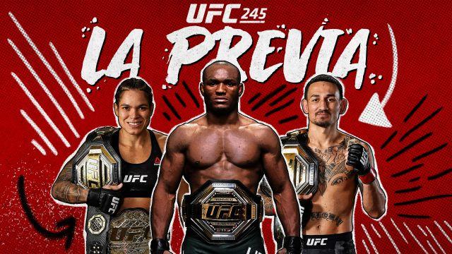 UFC 245: La Previa