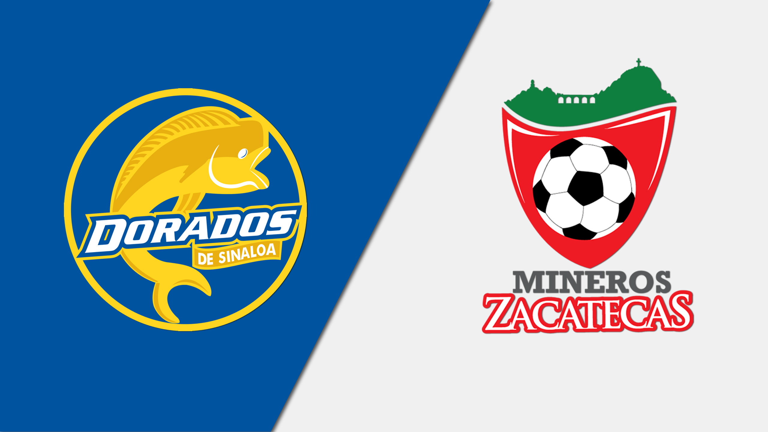 In Spanish - Dorados de Sinaloa vs. Mineros de Zacatecas (Quarterfinals, Leg 1) (Copa MX)