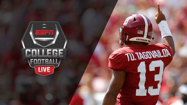 Wed, 10/16 - College Football Live Presented by Mazda