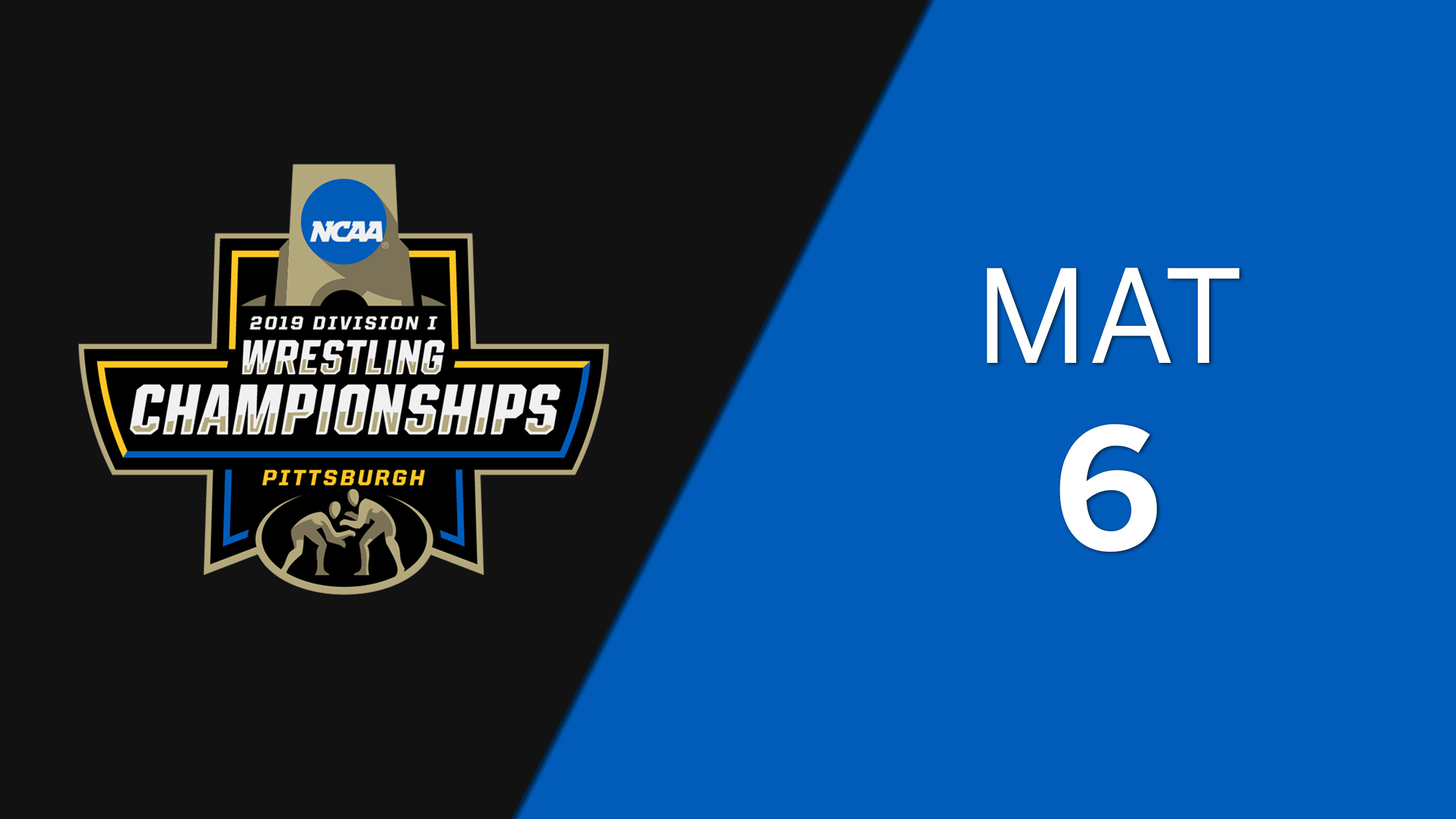 NCAA Wrestling Championship (Mat 6, First Round)
