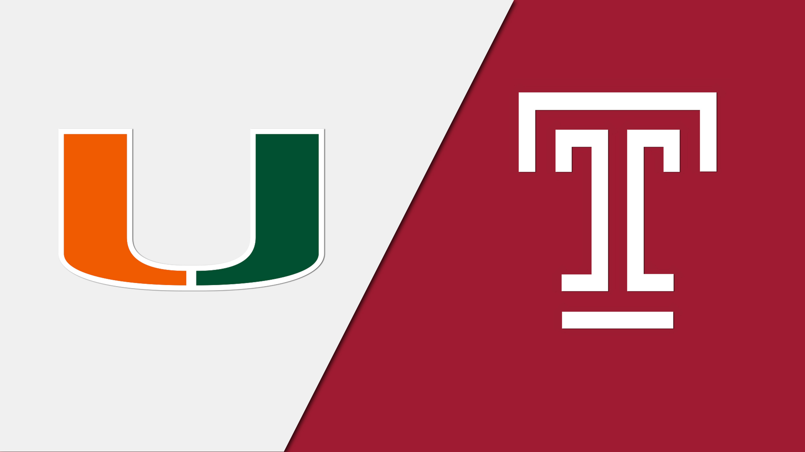 #2 Miami (FL) vs. #1 Temple (Semifinal #1) - 3/31/2015 (re-air)