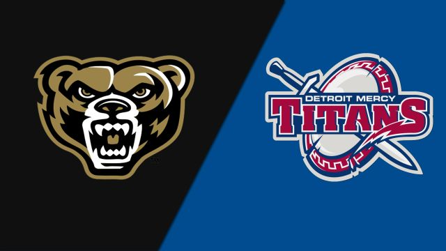 Oakland vs. Detroit Mercy (Softball)