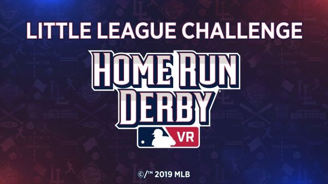 Sun, 8/18 - Home Run Derby VR:  Little League Challenge