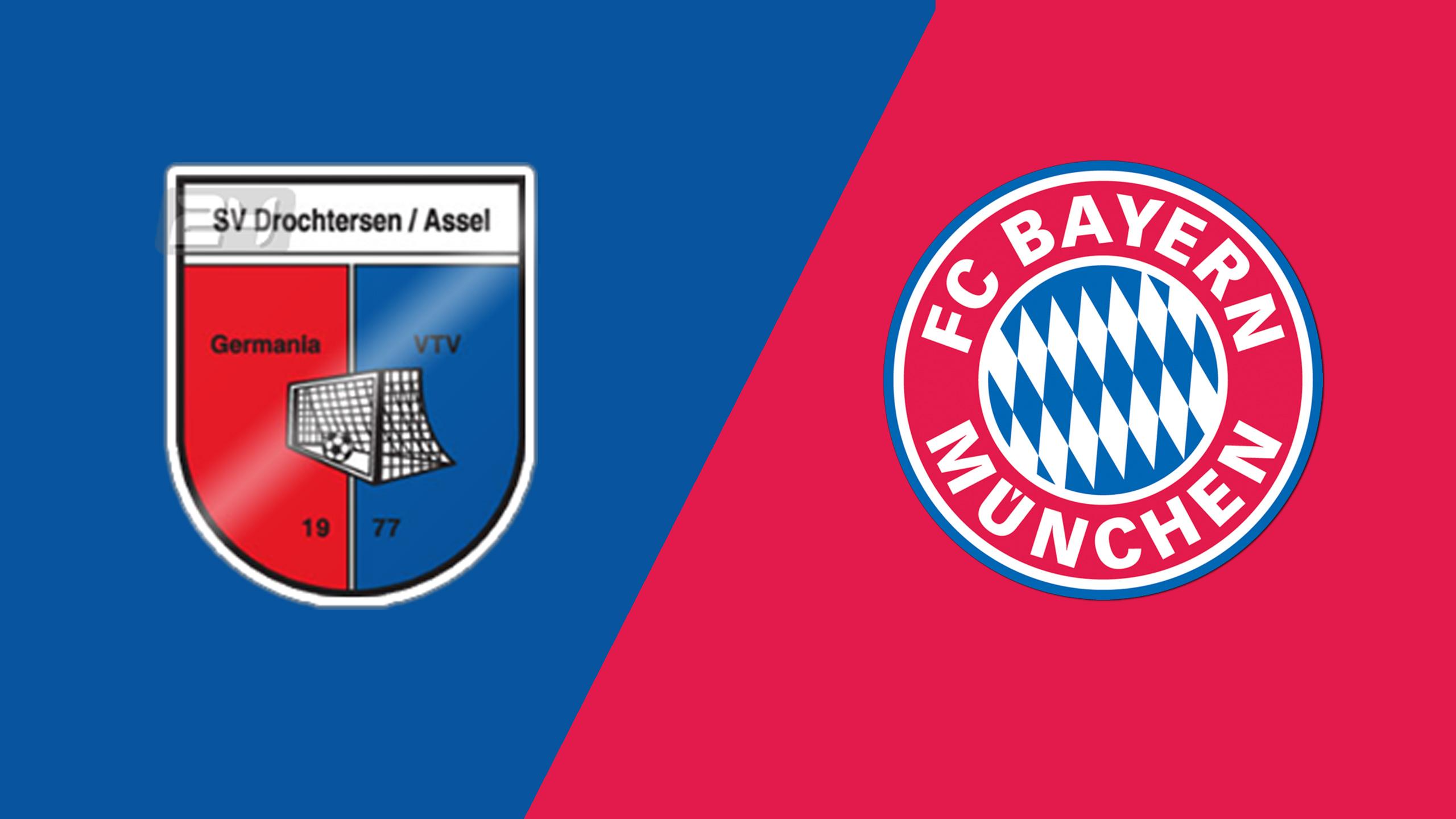 In Spanish - Drochtersen/Assel vs. Bayern Munich (Round 1) (German Cup)