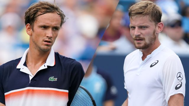 (9) Medvedev vs. (16) Goffin (Men's Final)
