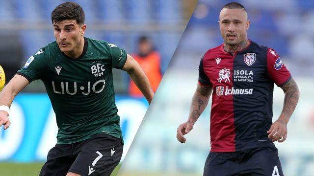 Wed 7 1 Bologna Vs Cagliari Serie A Watch Espn