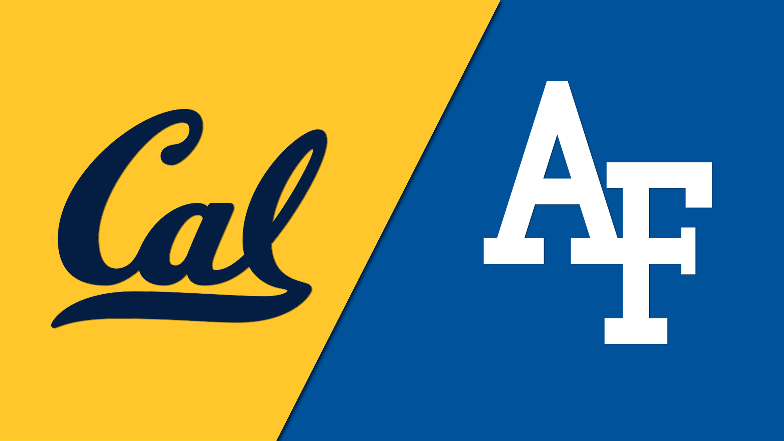 California vs. Air Force (Football) (re-air)