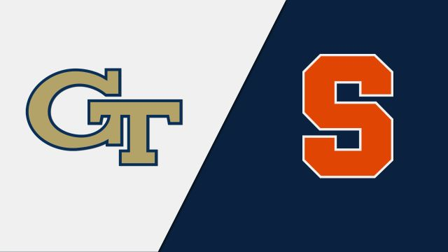 Georgia Tech vs. Syracuse (M Basketball)