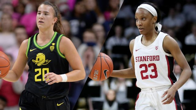 Mon, 2/24 - #3 Oregon vs. #4 Stanford (W Basketball)