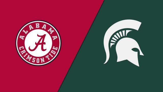 #15 Alabama vs. #7 Michigan State (re-air)