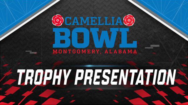 Camellia Bowl Trophy Ceremony (Bowl Game)