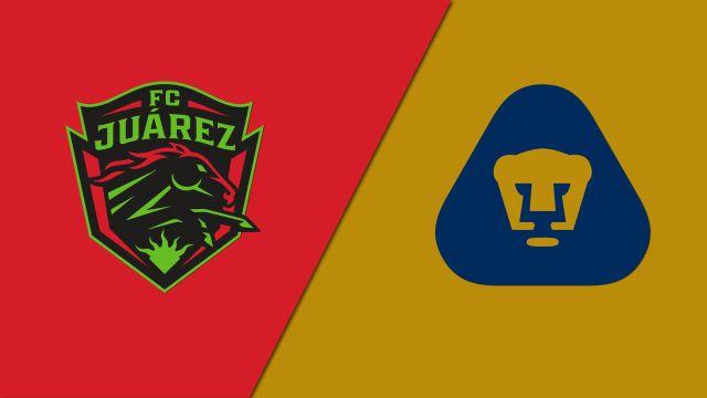 Thu, 1/16 - In Spanish-FC Juárez vs. Pumas de la UNAM (Jornada 2) (Liga MX)