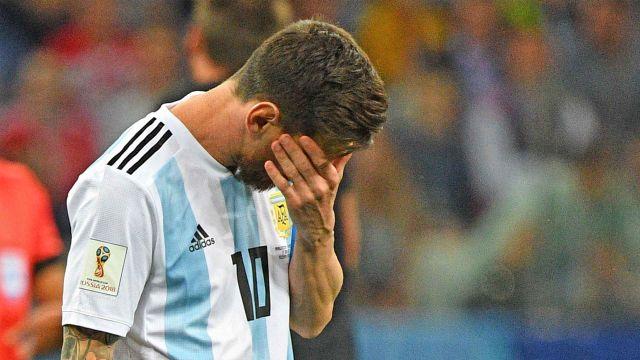 Repórter argentino sobre Messi na Copa: 'Jogou mal. Quando começa mal, termina mal'