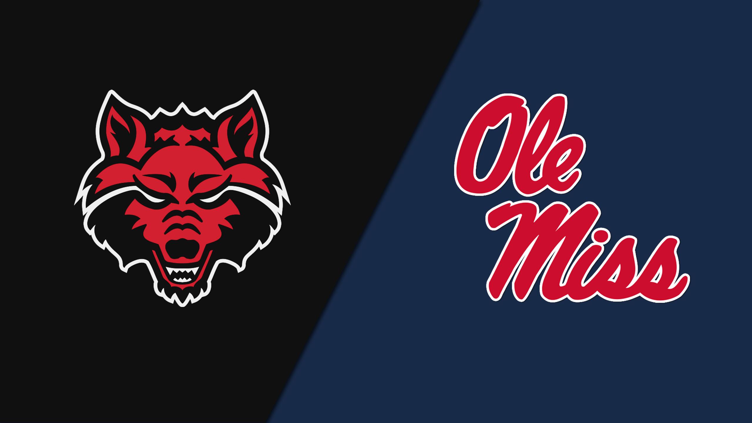 Arkansas State vs. #10 Ole Miss (Baseball)