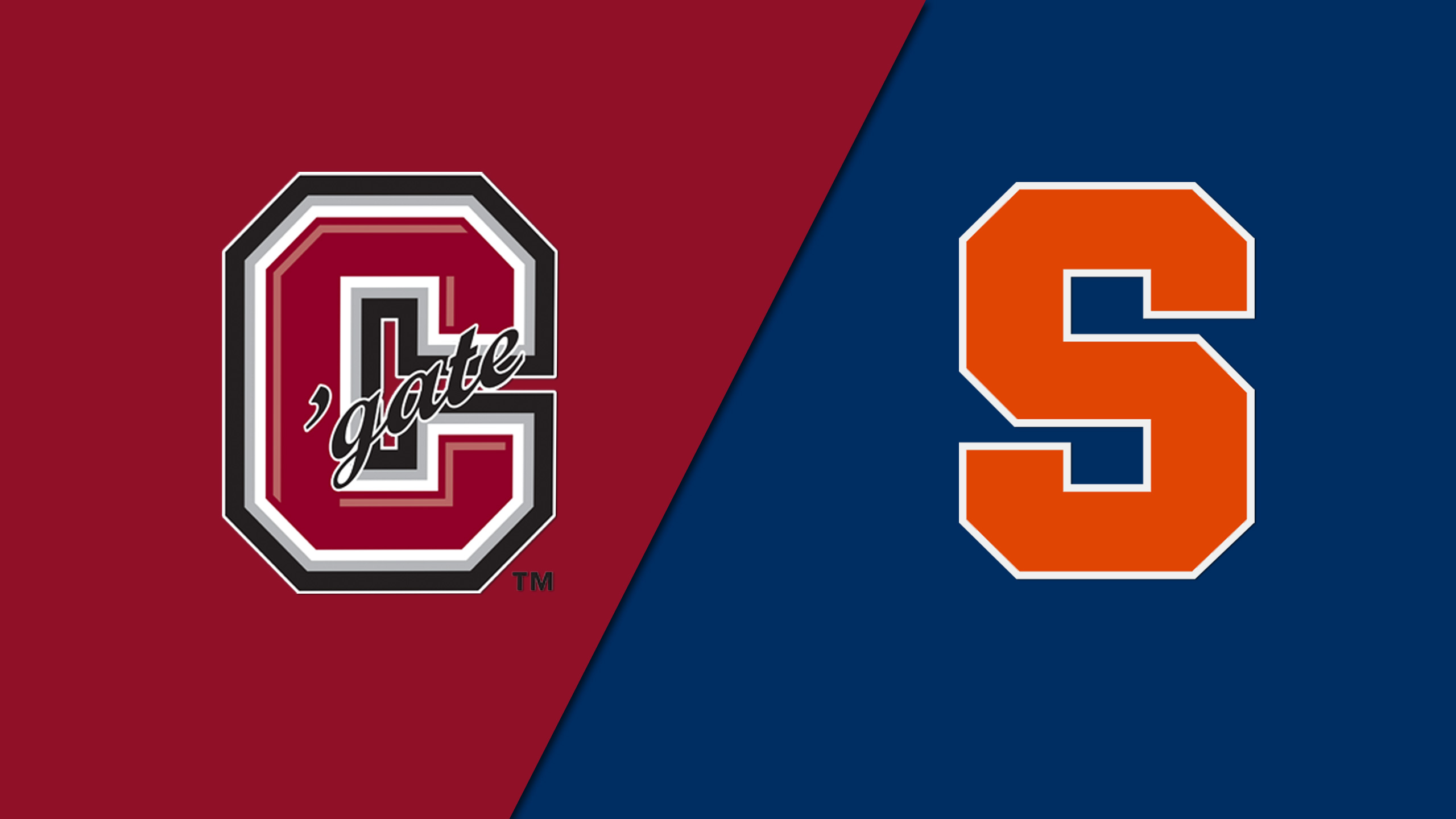 Colgate vs. Syracuse (M Basketball)