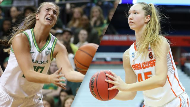 #1 Oregon vs. #17 Syracuse (W Basketball)