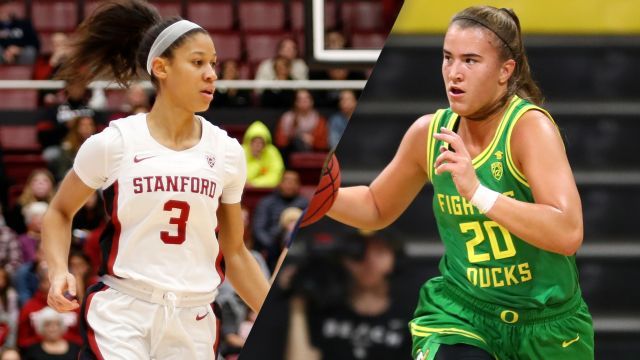 Thu, 1/16 - #3 Stanford vs. #6 Oregon (W Basketball)