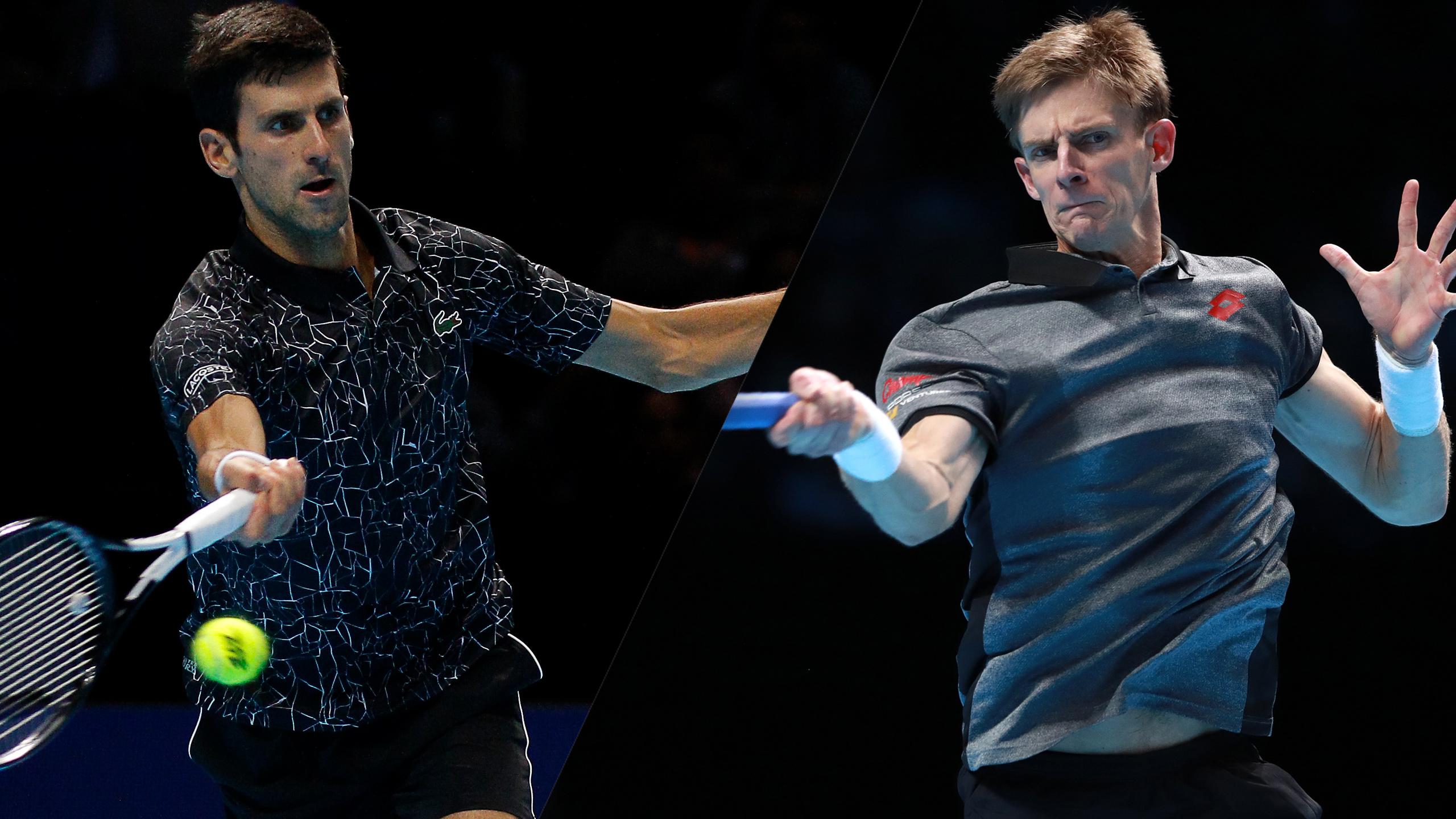 (1) Djokovic vs. (4) Anderson (Semifinal #2)