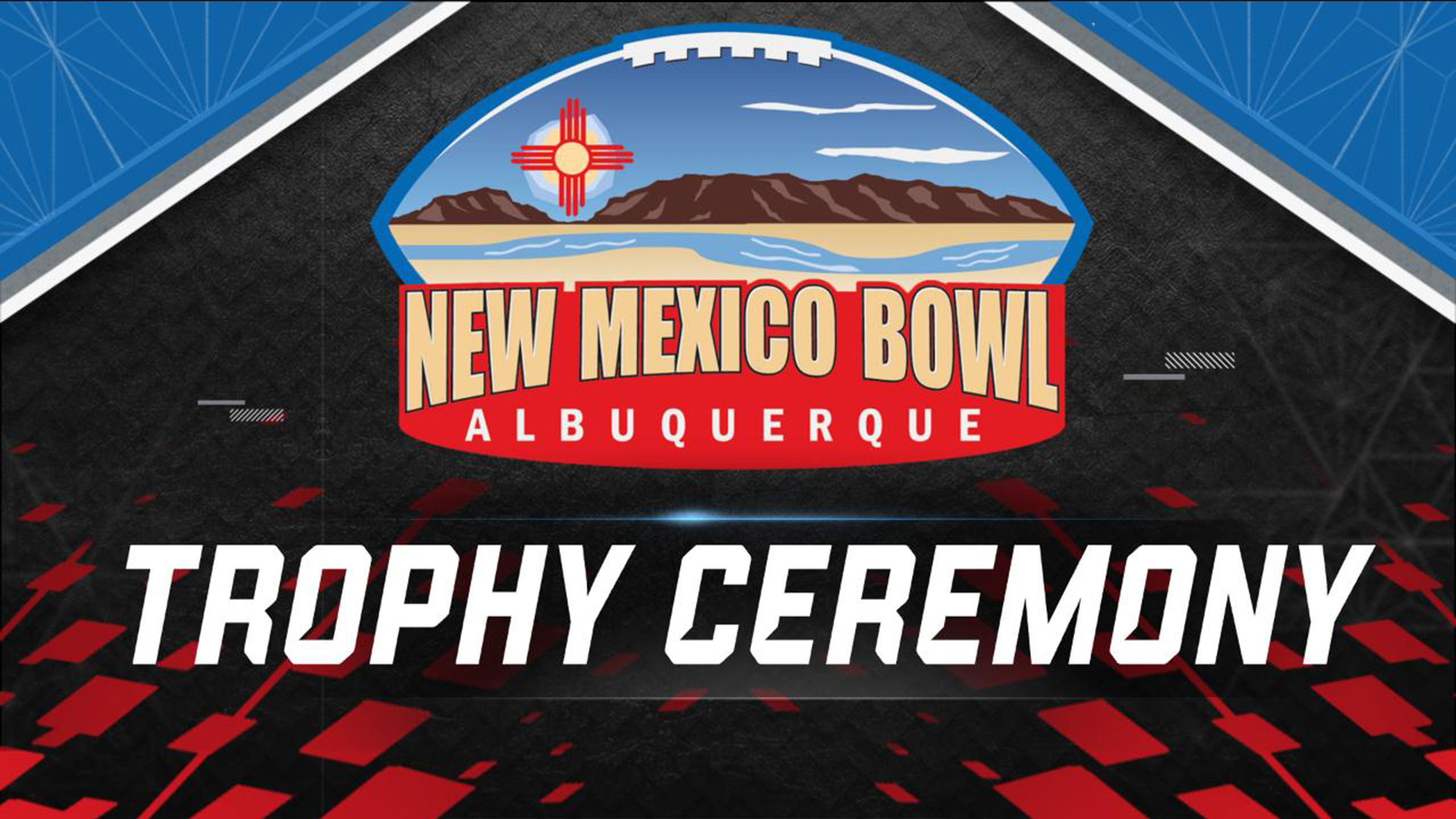 New Mexico Bowl Presented by Progressive Trophy Ceremony Presented by Capital One