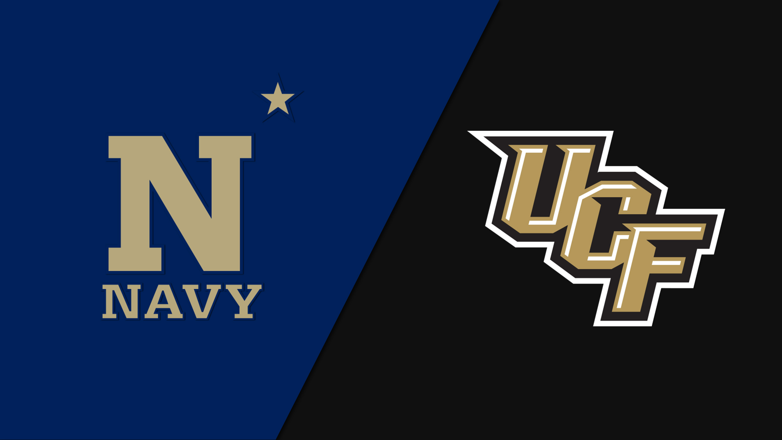 Navy vs. #12 UCF (Football) (re-air)