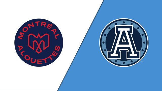 Sun, 8/25 - Montreal Alouettes vs. Toronto Argonauts (Canadian Football League)