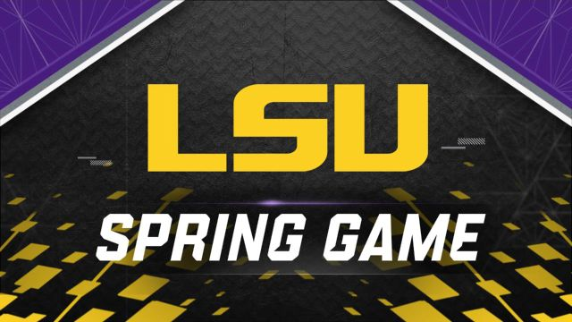 LSU Spring Football Game