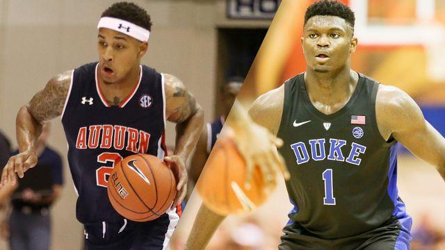#8 Auburn vs. #1 Duke (Semifinal #1) (re-air)