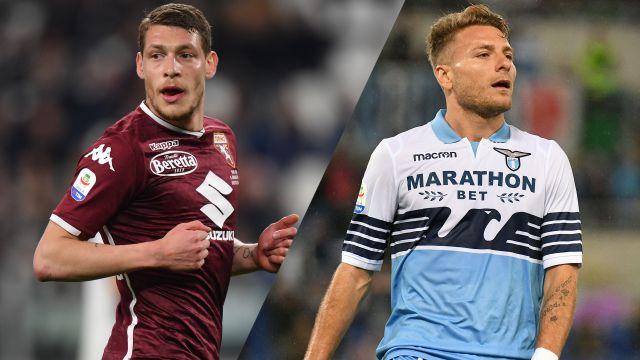 In Spanish-Torino vs. Lazio (Serie A)