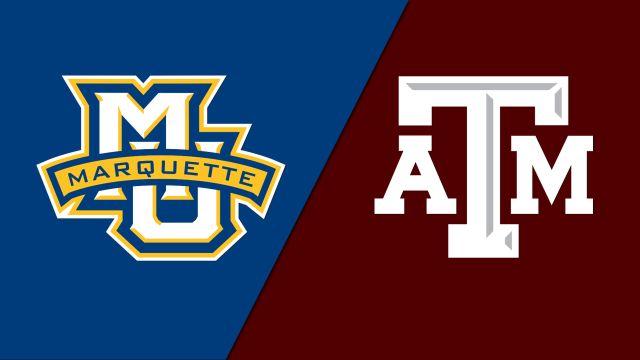 #5 Marquette vs. #4 Texas A&M (Second Round)