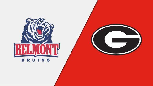 Belmont vs. #9 Georgia (Softball)