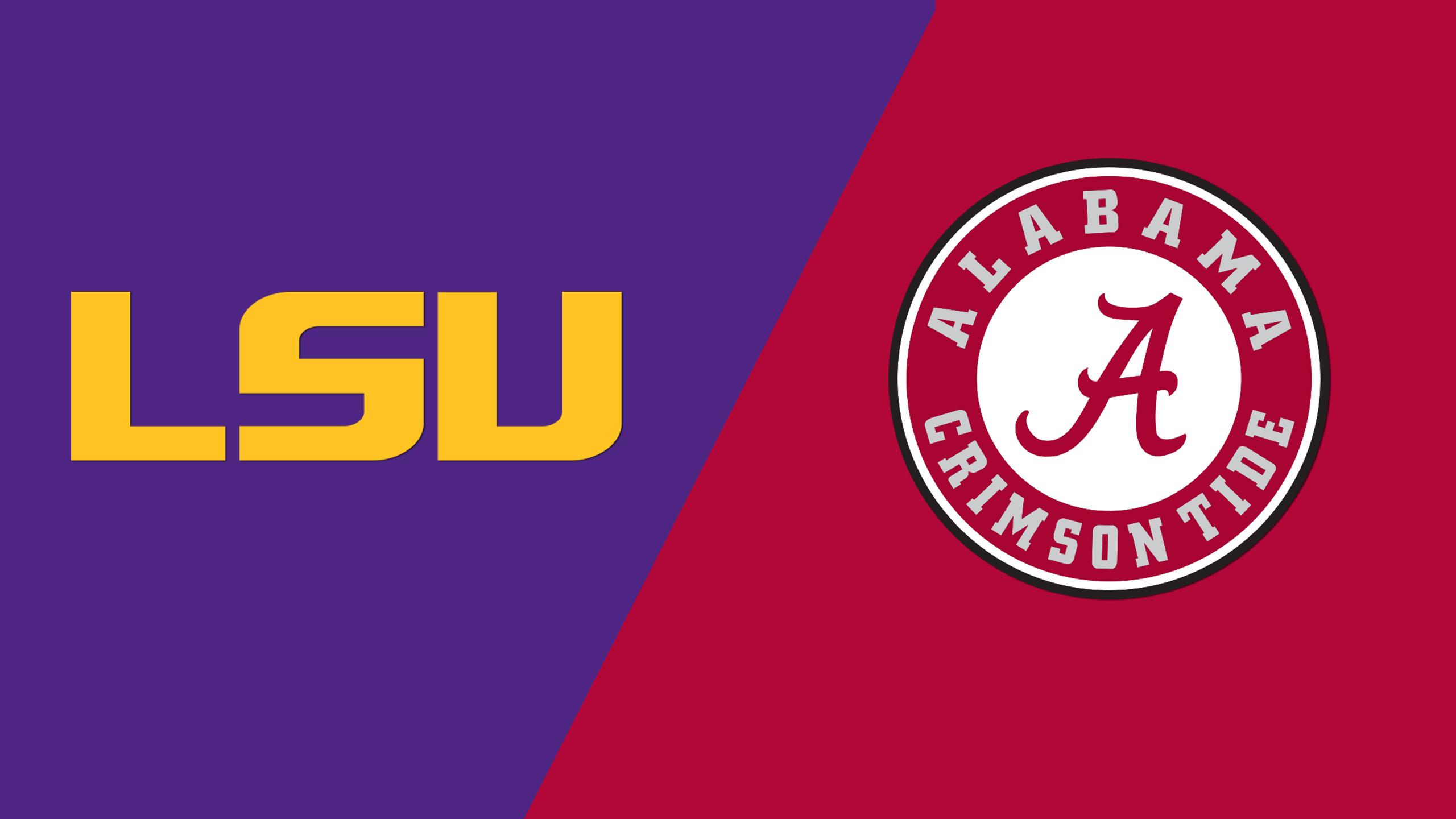 LSU vs. Alabama (W Basketball) (re-air)