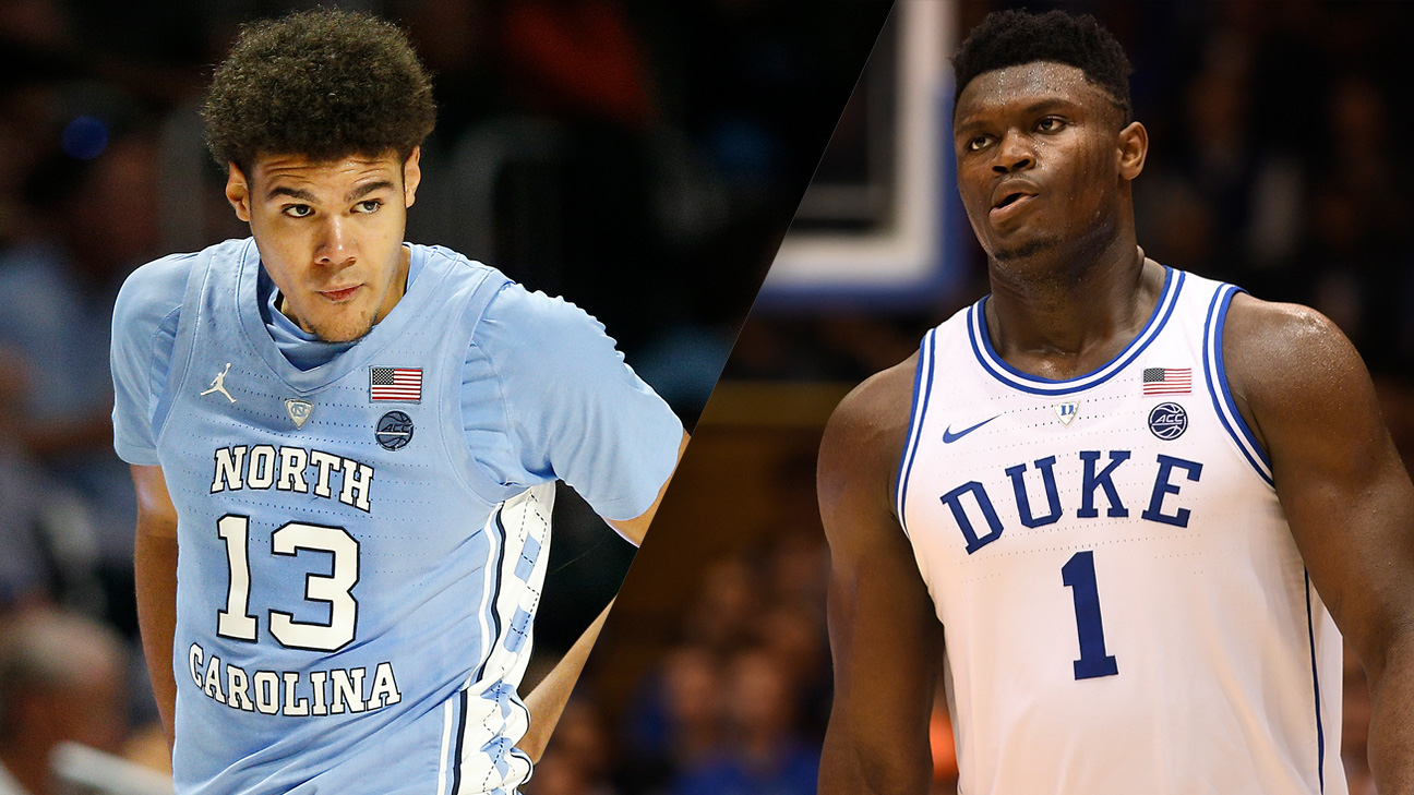 #8 North Carolina vs. #1 Duke (M Basketball) (re-air)
