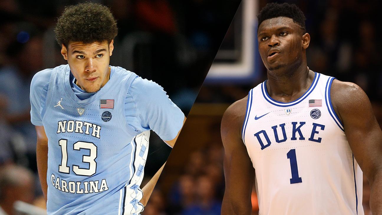 #8 North Carolina vs. #1 Duke (re-air)