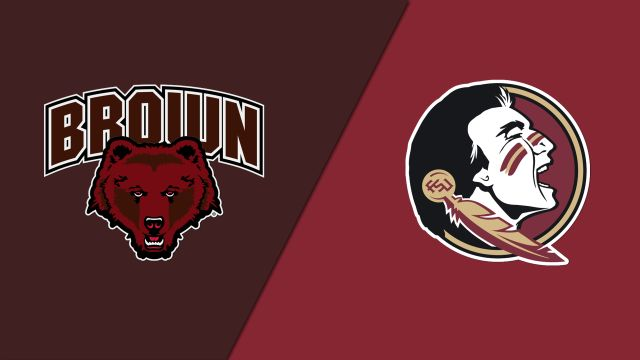 Brown vs. #1 Florida State (Second Round) (NCAA Women's Soccer Championship)