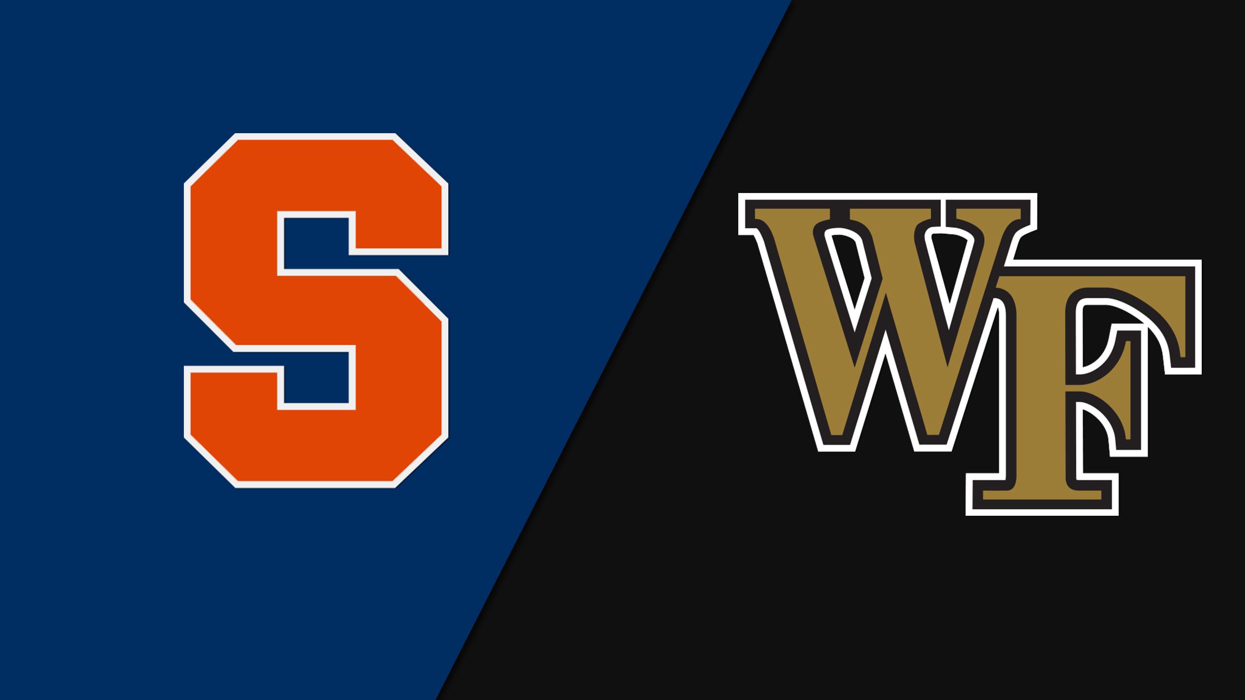 Syracuse vs. Wake Forest (Field Hockey)