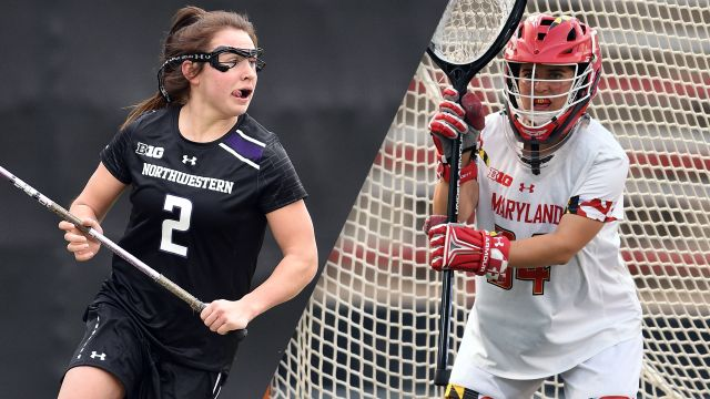 #4 Northwestern vs. #1 Maryland (Semifinal #2)  (NCAA Women's Lacrosse Championship)