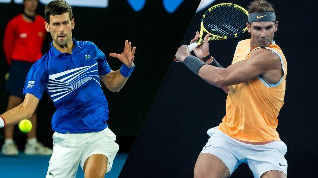 (1) Djokovic vs. (2) Nadal