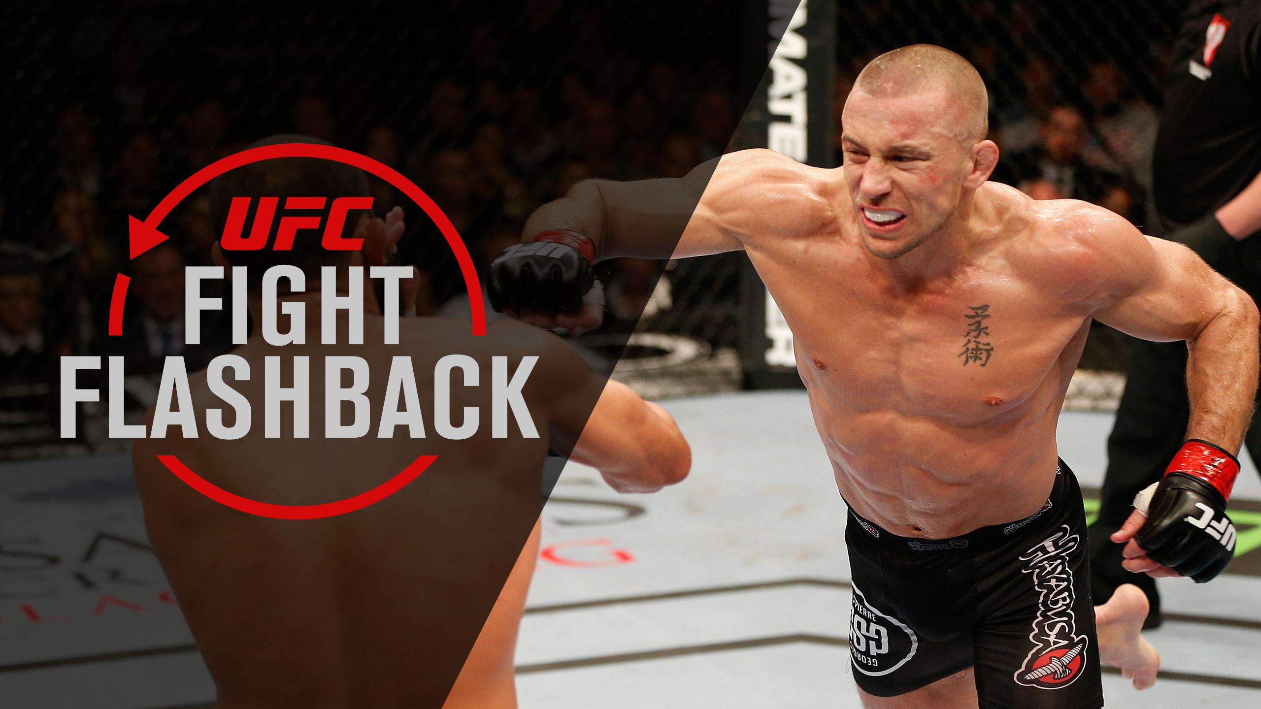 UFC Fight Flashback: GSP vs Hendricks
