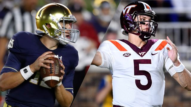 #6 Notre Dame vs. #24 Virginia Tech (re-air)