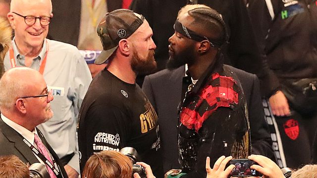 Wed, 2/19 - In Spanish - Press Conference: Deontay Wilder vs. Tyson Fury II