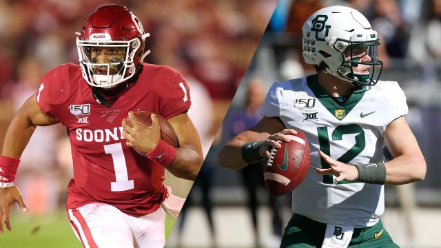 #10 Oklahoma vs. #13 Baylor (Football)