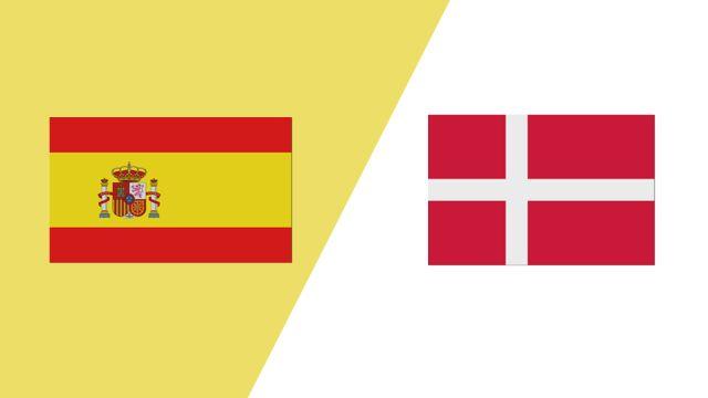 Spain vs. Denmark