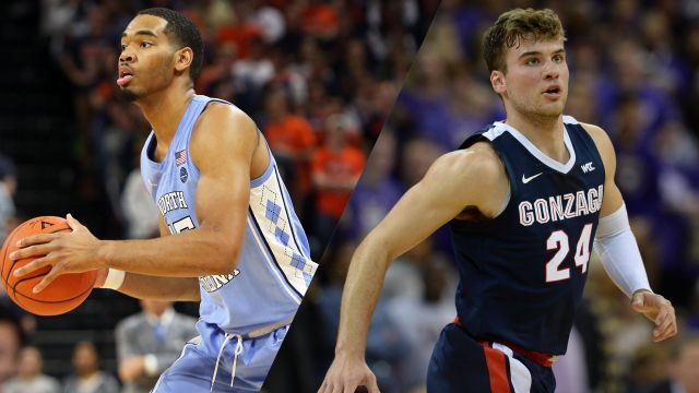 #17 North Carolina vs. #6 Gonzaga (M Basketball)