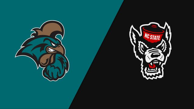 Coastal Carolina vs. NC State (First Round) (NCAA Men's Soccer Championship)